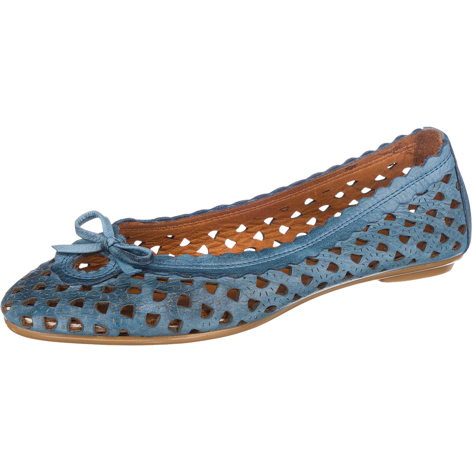 Andrea Conti Ballerinas blau Damen Gr. 39 jetztbilligerkaufen