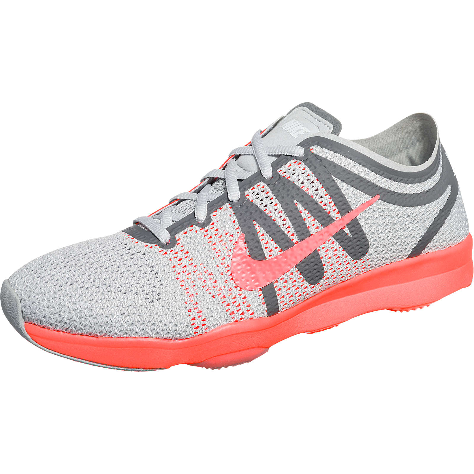 Nike Performance Air Zoom Fit 2 Sportschuhe grau-kombi Damen Gr. 38,5