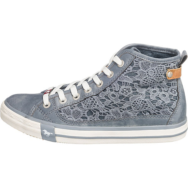 Sneakers blau MUSTANG High Sneakers MUSTANG UnzBT