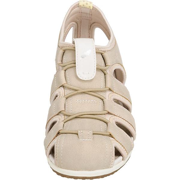 GEOX, D SANDAL VEGA beliebte Komfort-Sandalen, beige  Gute Qualität beliebte VEGA Schuhe 4199dd