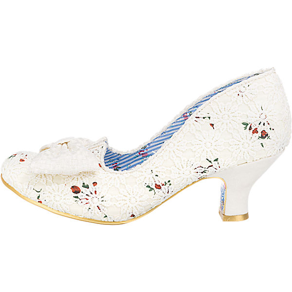 Irregular Choice Irregular Choice Dazzles 2nd Razzle Pumps creme