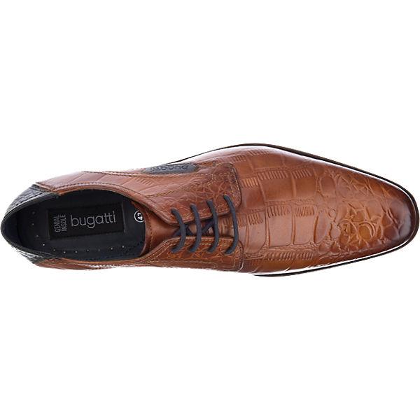 bugatti bugatti Business Schuhe cognac