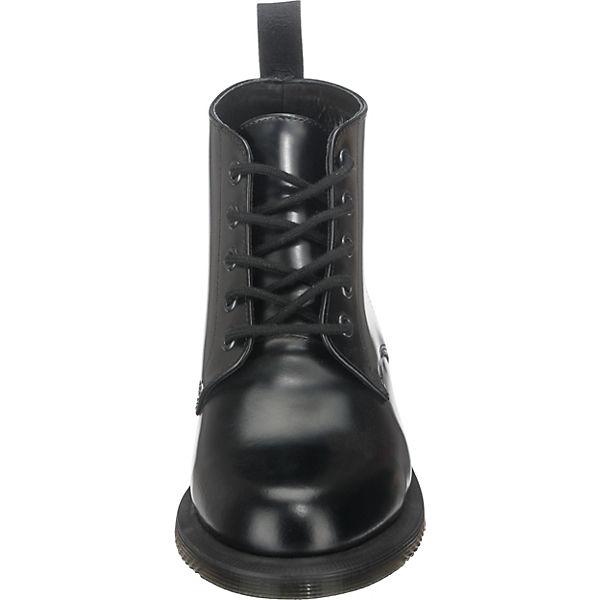 EMMELINE Schnürstiefeletten Pol schwarz BLACK Smooth Martens Dr 7qp5SwZ