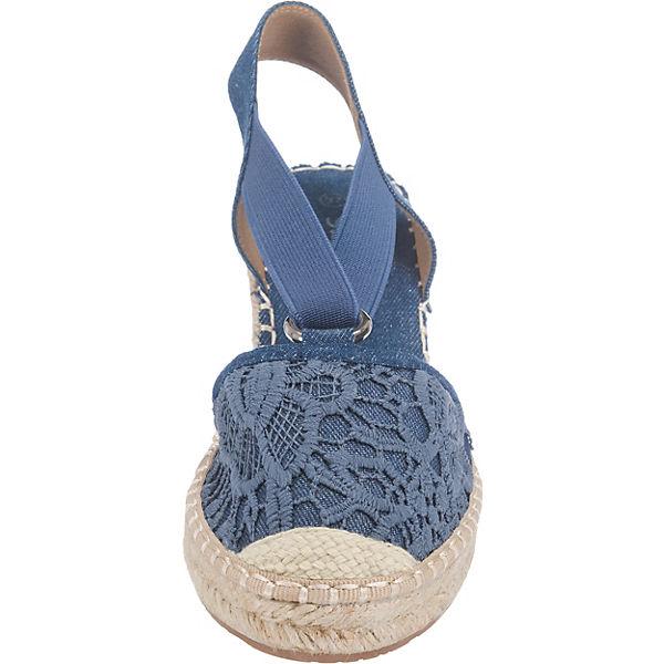 Supremo Supremo Sandaletten blau