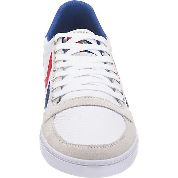 hummel Slimmer Stadil Sneakers Low beliebte weiß-kombi  Gute Qualität beliebte Low Schuhe 111182