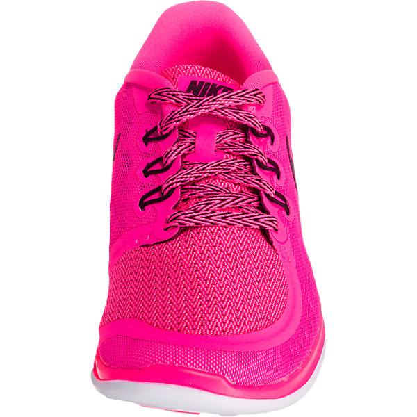 NIKE Sportschuhe Nike Free Run für Mädchen pink