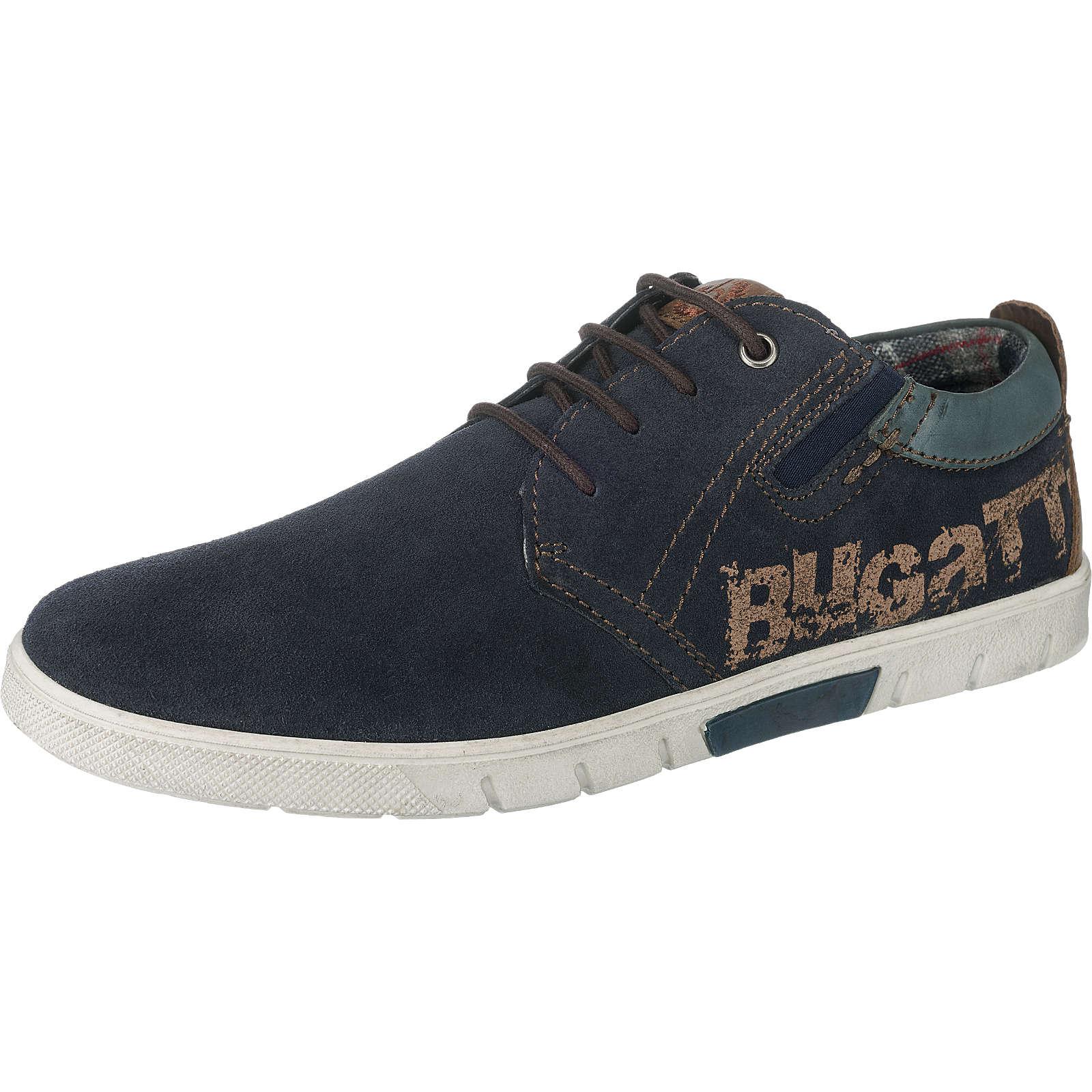 bugatti Sneakers dunkelblau Herren Gr. 45