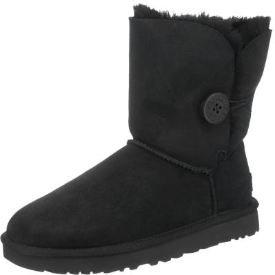 UGG, Bailey Button Winterstiefel, schwarz