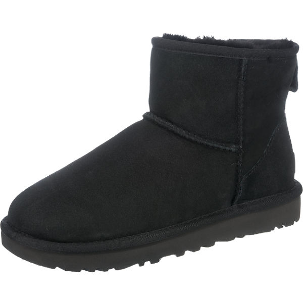 ugg w classic mini ii winterstiefeletten schwarz mirapodo. Black Bedroom Furniture Sets. Home Design Ideas