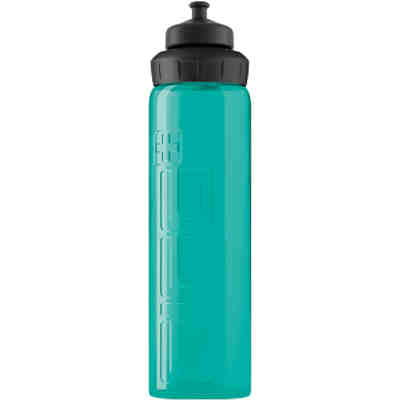 Trinkflasche VIVA 3-STAGE Aqua transparent, 750 ml