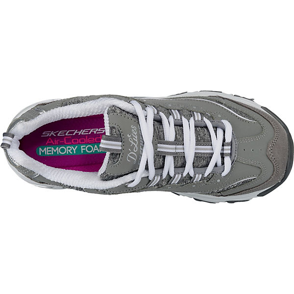 SKECHERS, D'LITES ME TIME Sneakers  Low, grau  Sneakers  41803b