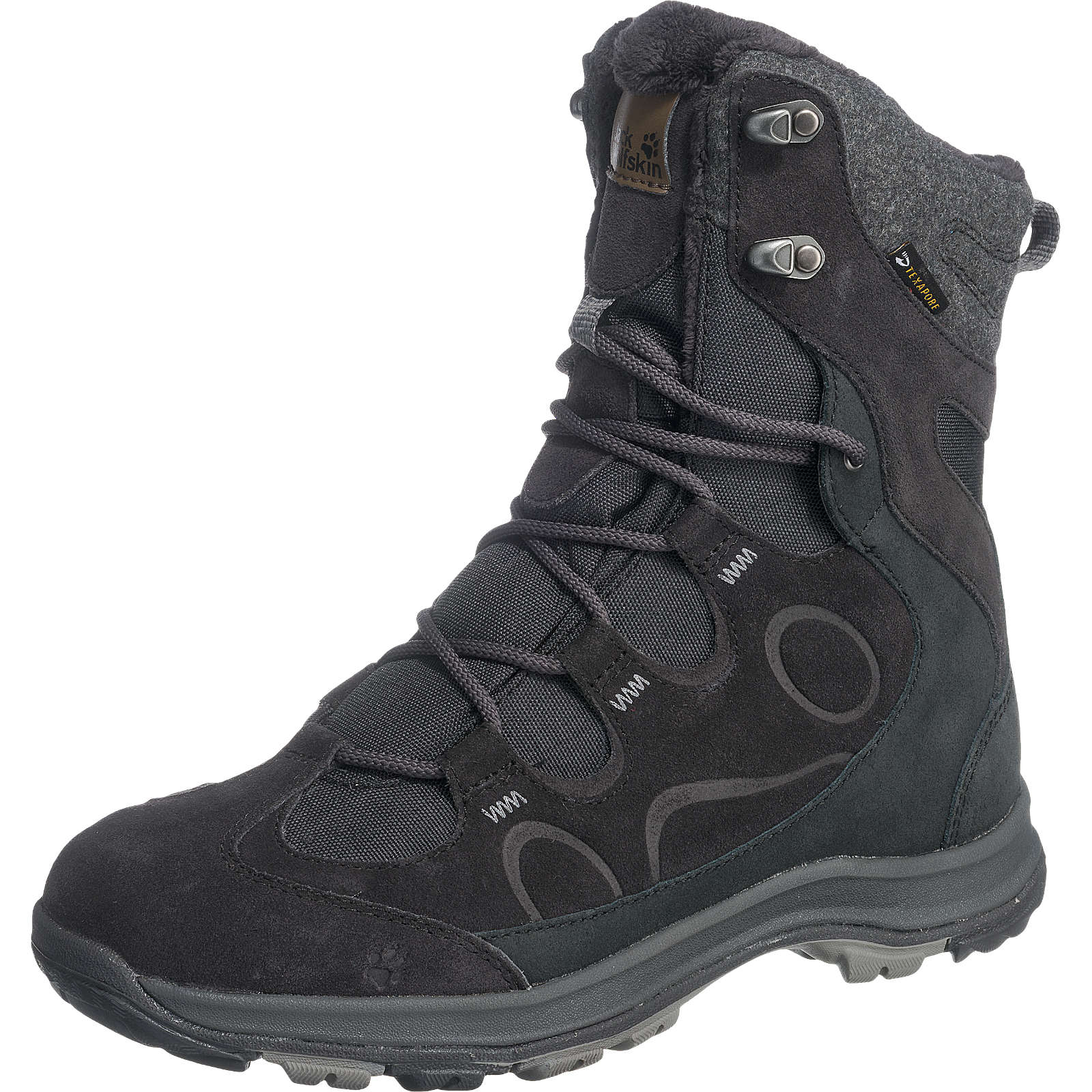 JACK WOLFSKIN Thunder Bay Texapore High Outdoor Stiefel wasserdicht anthrazit Damen Gr. 38