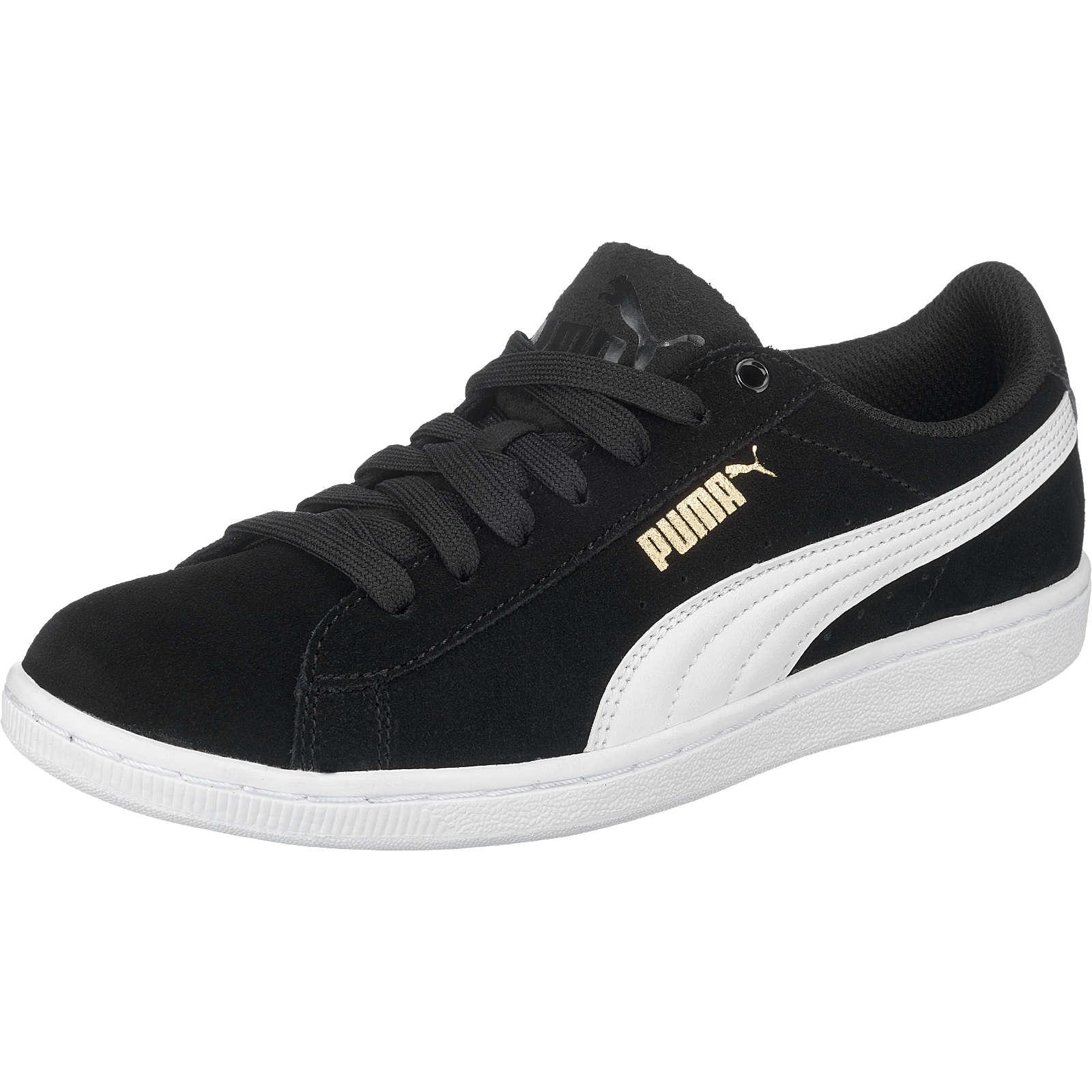 PUMA Vikky Sneakers Low schwarz/weiß Damen Gr. 42