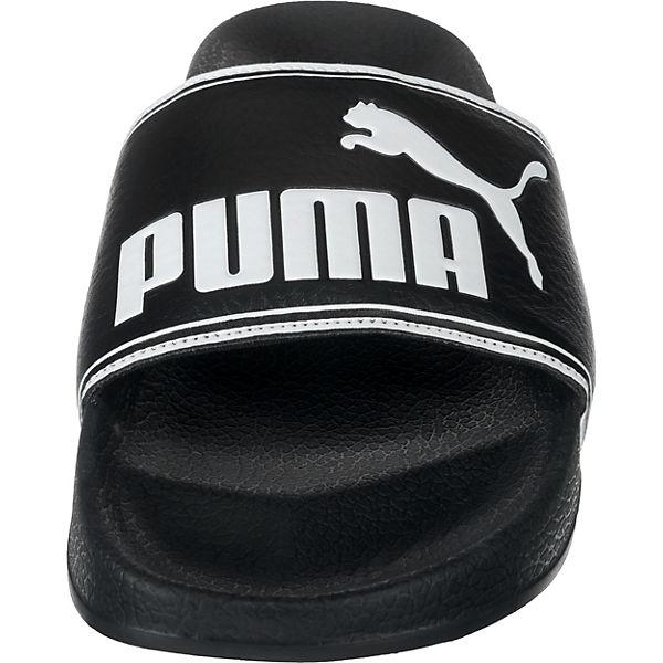PUMA Leadcat Badeschuhe schwarz