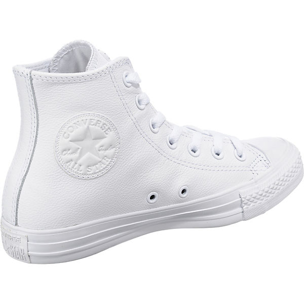 CONVERSE Chuck Taylor All Star Leather Hi Sneakers weiß