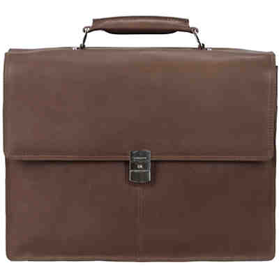 Harold's Country Aktentasche Leder 39 cm Laptopfach