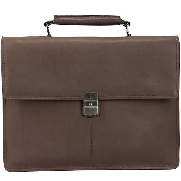 Harold's Country Aktentasche Leder 37 cm Laptopfach