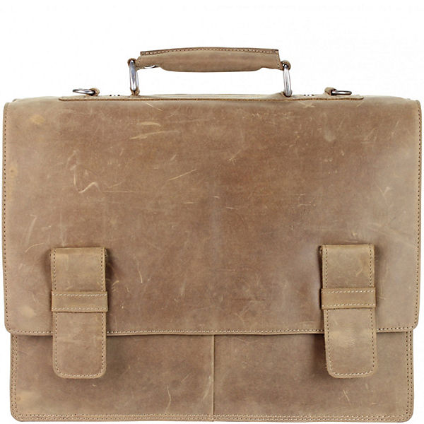 Toro Braun 41 Cm Harold's Aktentasche Leder R4jL5A