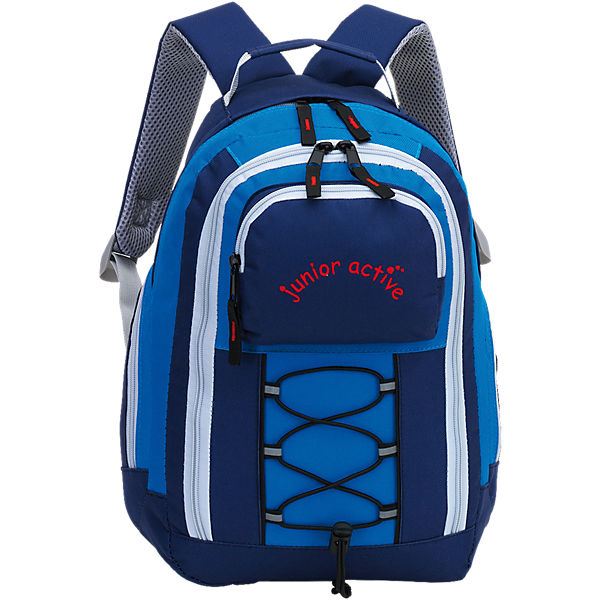 Kinderrucksack junior active blau/hellblau