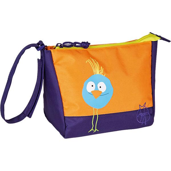 Lässig Kulturbeute 4kids, Mini Washbag, Wildlife Birdie orange