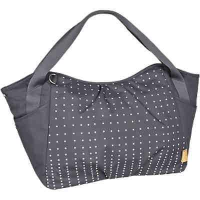 Zwillings - Wickeltasche Casual, Twin Bag, Dotted lines ebony