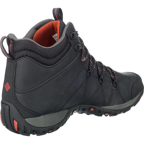 Columbia, Columbia Peakfreak Venture Mid schwarz Omni-H Outdoor Stiefeletten wasserdicht, schwarz Mid  Gute Qualität beliebte Schuhe b8c7a9