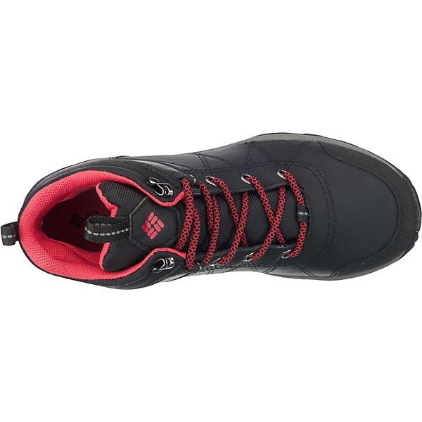 Columbia, FIRE VENTURE™ schwarz MID LEATHER Wasserdicht Wanderstiefel, schwarz VENTURE™  Gute Qualität beliebte Schuhe eb2e82