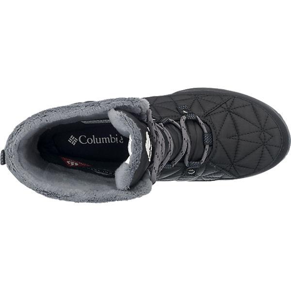 Mid Omni Columbia Outdoor wasserdicht Stiefel schwarz Heat Columbia Loveland Eq4p6TH