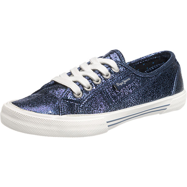 Pepe Jeans Pepe Jeans Aberlady Crackle Sneakers dunkelblau