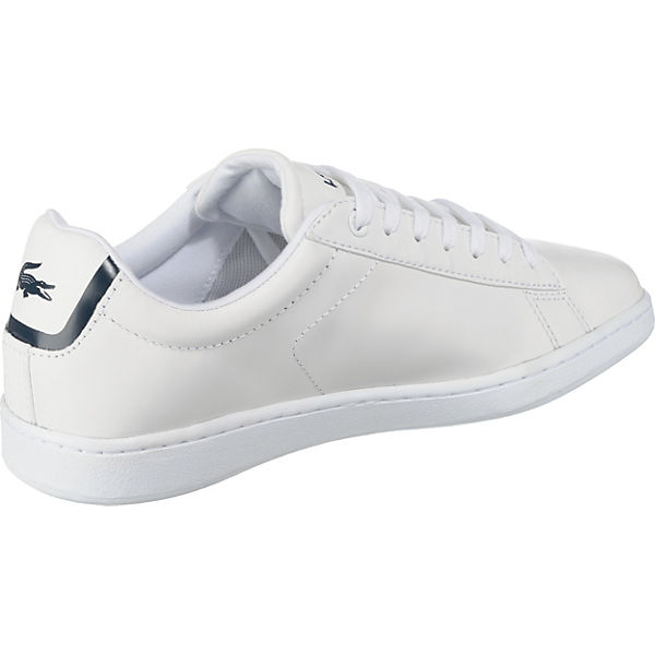 Sneakers Low Lacoste Evo Weiß Carnaby FEwtqv