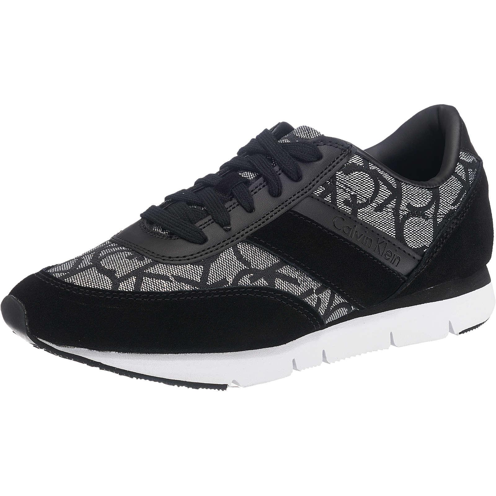 CALVIN KLEIN JEANS Sneakers schwarz-kombi Damen Gr. 37