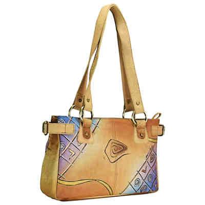 adc535c679045 ... Greenland Nature Art + Craft Shopper Tasche Leder 34 cm 2