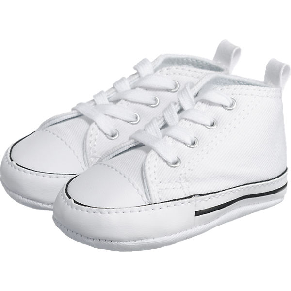 Krabbelschuhe FIRST STAR WHITE