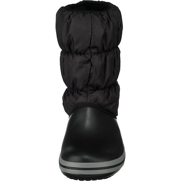crocs crocs winter puff stiefel schwarz mirapodo. Black Bedroom Furniture Sets. Home Design Ideas
