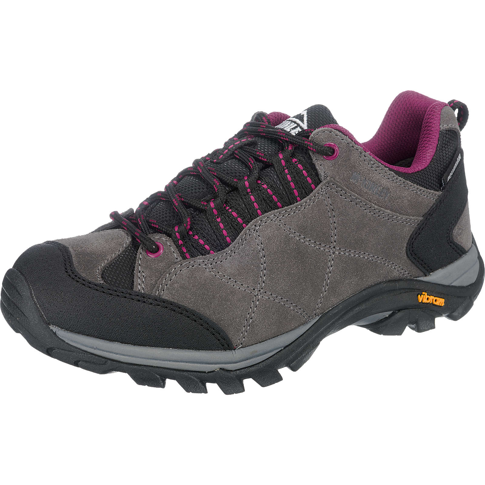 McKinley Nago Aqx Outdoor Schuhe wasserdicht grau-kombi Damen Gr. 40