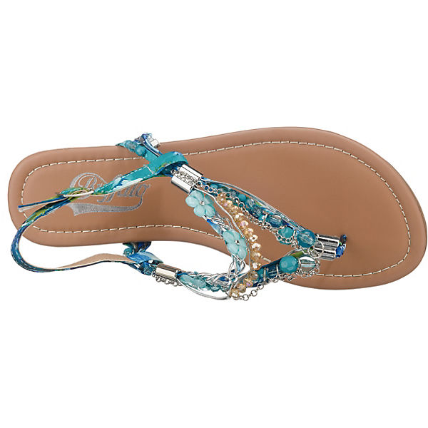 Buffalo Türkis sandalen 313560 T steg xUwqZr8pgU