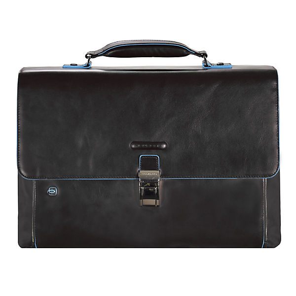 Piquadro Blue Square Aktentasche Leder 40 cm Laptopfach