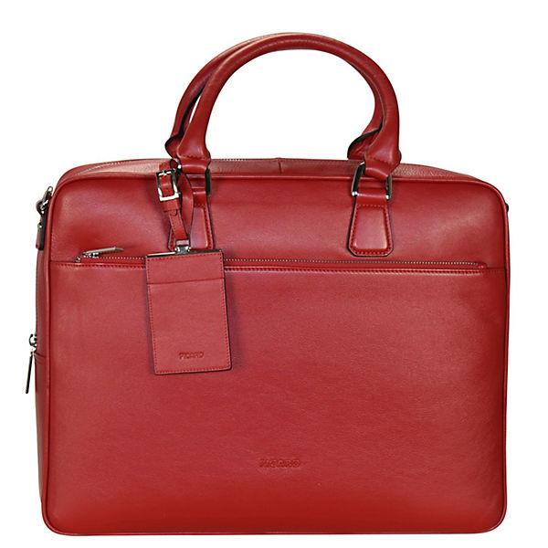 PICARD PICARD Maggie Aktentasche Leder 39 cm Laptopfach rot