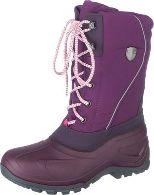 CMP Winterboots, Groesse 36, grau/rosa