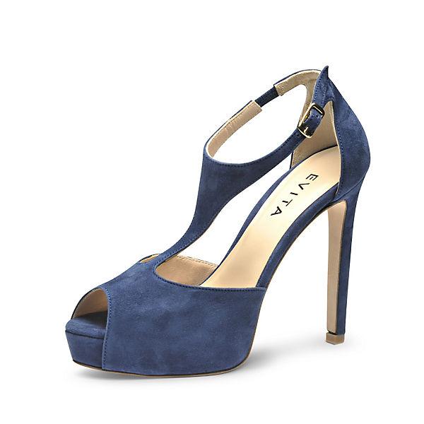 Shoes Evita Sandaletten Shoes blau Evita FqqRE
