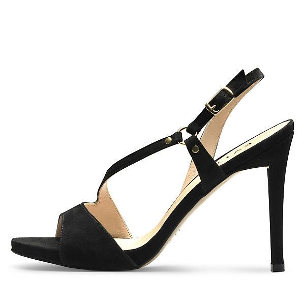 Shoes Evita schwarz Sandaletten Shoes Evita dTwFqZd