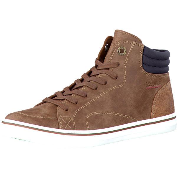 Briesen Angebote s.Oliver Sneakers cognac Damen Gr. 40