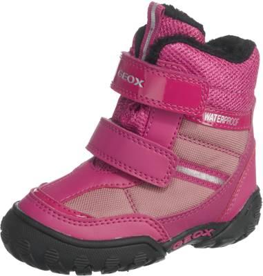 GEOX, Winterstiefel für Mädchen, Tex, pink