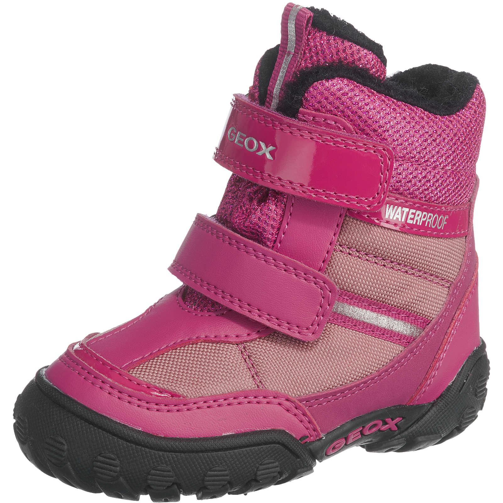 GEOX Winterstiefel für Mädchen, Tex pink Mädchen Gr. 27