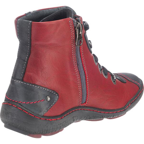 Kacper, Gute Kacper Stiefeletten, rot-kombi  Gute Kacper, Qualität beliebte Schuhe a5d101