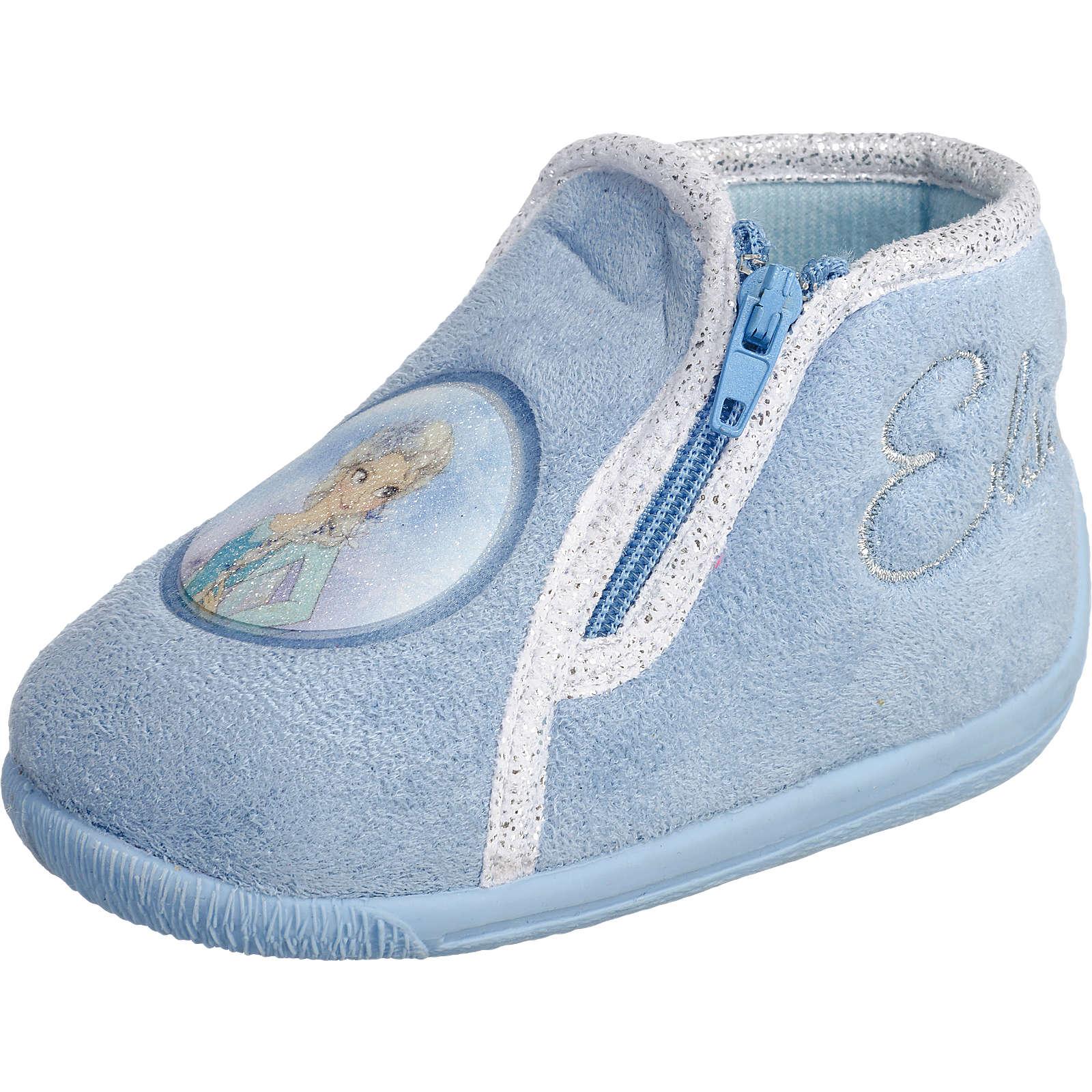 DISNEY DIE EISK–NIGIN Kinder Hausschuhe hellblau Mädchen Gr 21