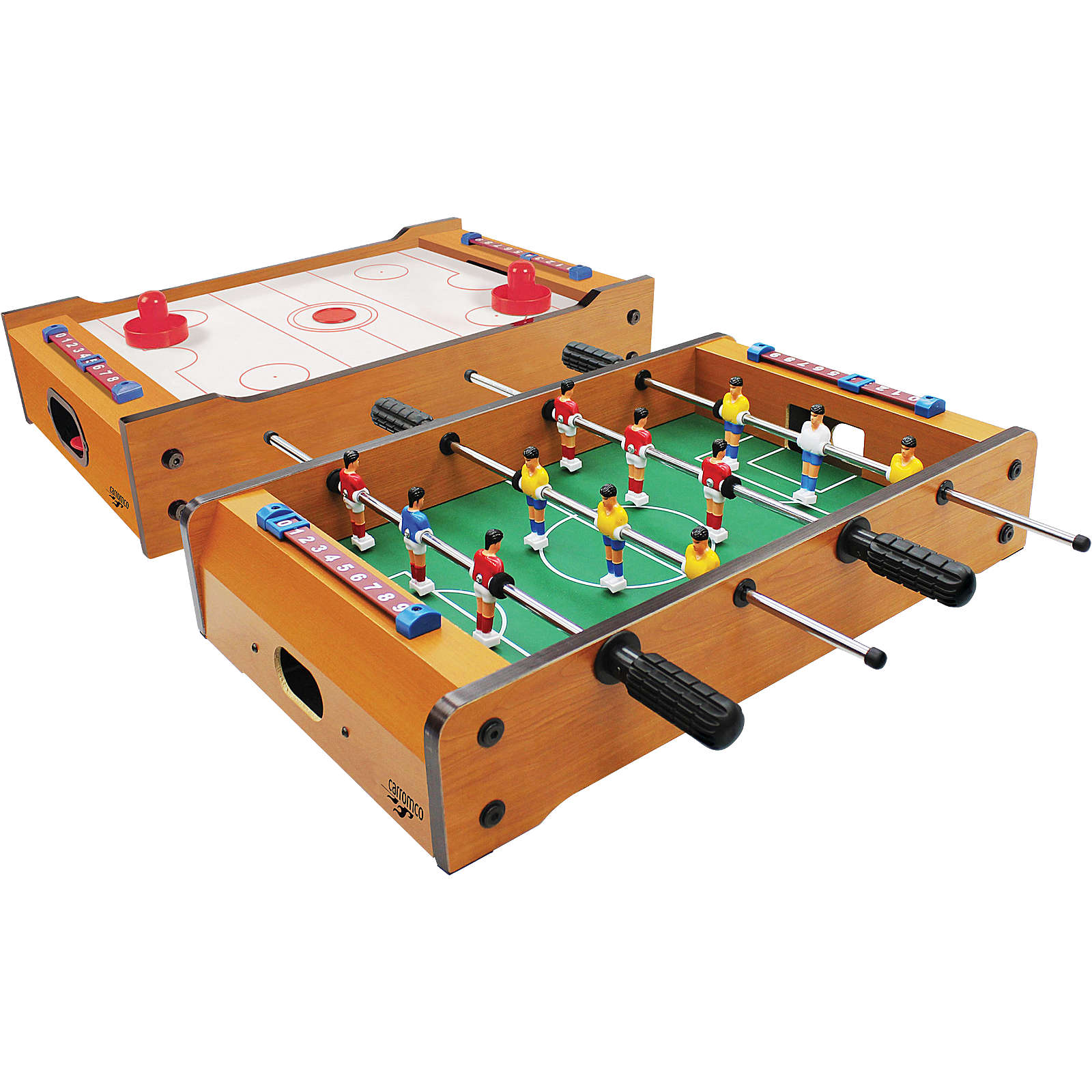 Carromco Multigame Flip-XW, Tischauflage 2 in 1...