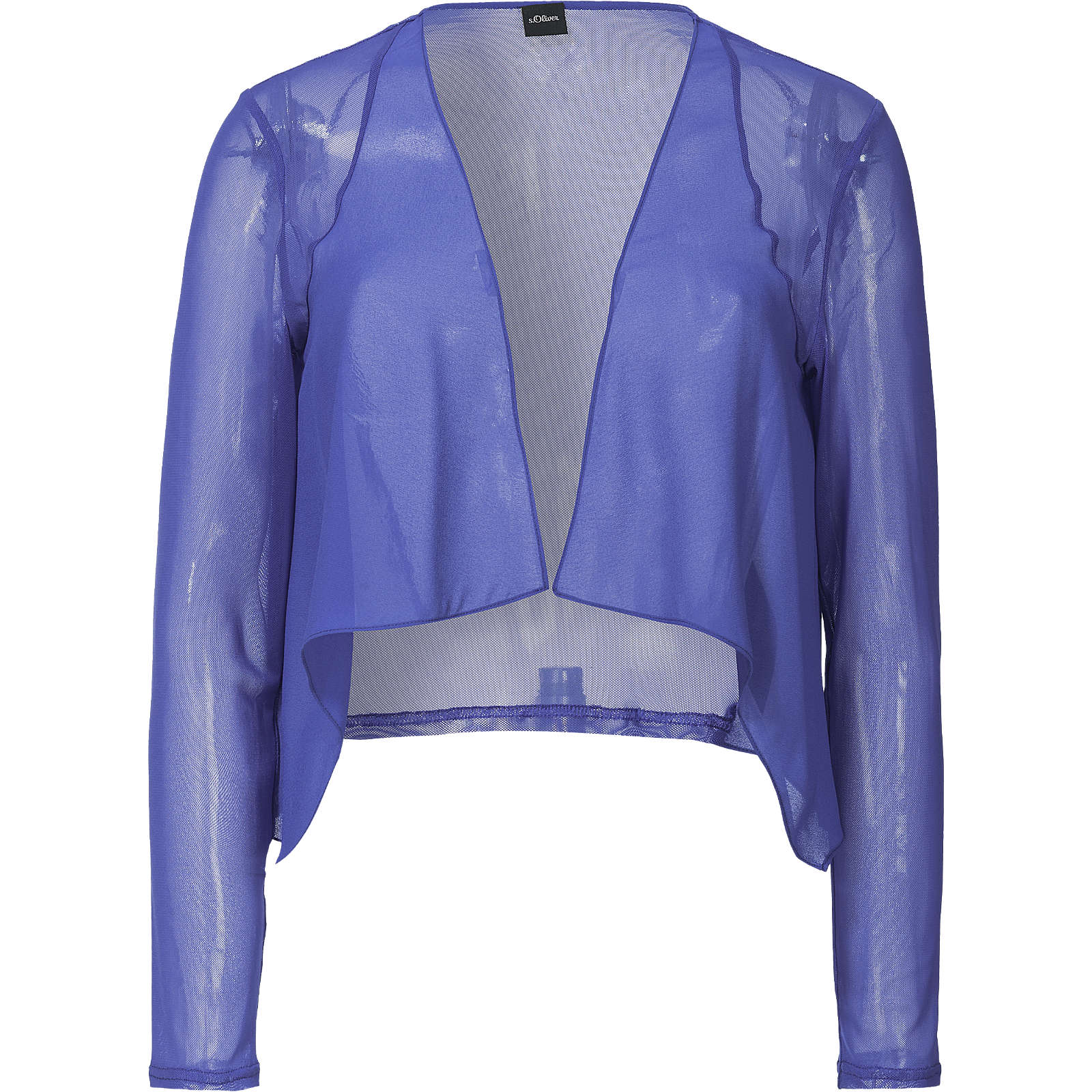 s.Oliver BLACK LABEL Bolero blau Damen Gr. 36