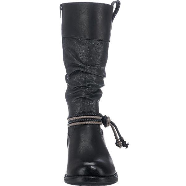 rieker, rieker Stiefel, schwarz-kombi beliebte  Gute Qualität beliebte schwarz-kombi Schuhe e49f51