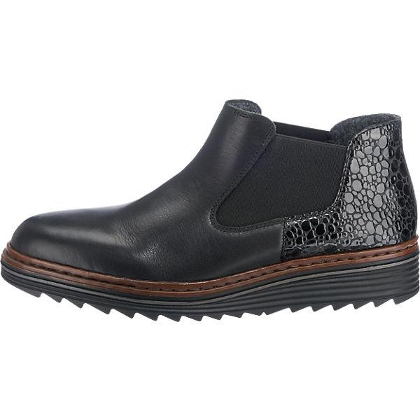rieker rieker Stiefeletten schwarz-kombi  Gute Qualität beliebte Schuhe Schuhe Schuhe e4a96d